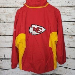 Reebok NFL Kansas City Chiefs Jacket Size XL